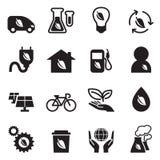 Ecology & save the world icons set Stock Image