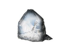 Ecology series -garbage Stock Photos