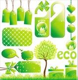 Ecology set Stock Photo