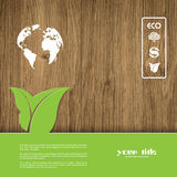 Ecology signs and symbols Royalty Free Stock Photos