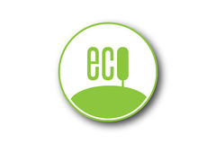 Ecology simple concept Royalty Free Stock Photo
