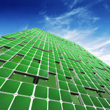 Ecology skyscraper Stock Photos
