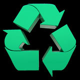 Ecology symbol Royalty Free Stock Photography