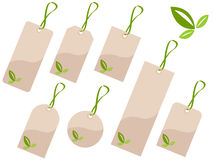 Ecology tags Stock Image