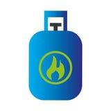 Ecology tank gas icon Stock Photo