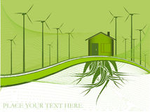 Ecology theme Stock Image