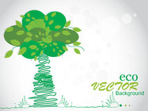 Ecology theme vector illustration Royalty Free Stock Images
