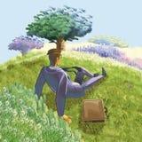 Ecology to man Royalty Free Stock Image