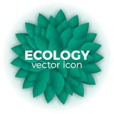 Ecology vector concept Royalty Free Stock Photography