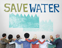 Ecology Water Conservation Sustainability Nature Concept Royalty Free Stock Photos