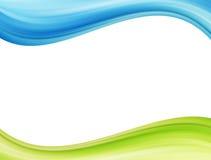 Ecology waves Stock Image