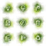 Ecology web icons Stock Images