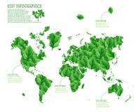 Ecology world infographics Stock Photo
