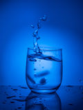 Ecologycal concept. Water preservation, water resources, purification, clear water, water leak. Lifestyle for healthcare Royalty Free Stock Images