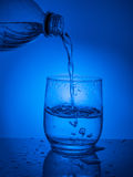 Ecologycal concept. Water preservation, water resources, purification, clear water, water leak. Lifestyle for healthcare Royalty Free Stock Photos