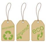 Ecomarkeringen Stock Afbeeldingen