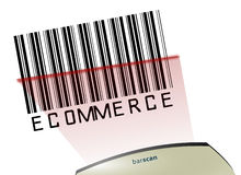Ecommerce barcode Royalty Free Stock Photo