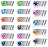 Ecommerce and blank button/icon set. Ecommerce and blank web button/icon set for web applications. Vector illustration stock illustration
