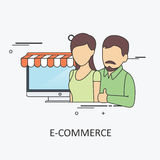 Ecommerce Business Stock Image