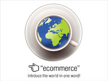 Ecommerce Concept Royalty Free Stock Photos