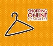 Ecommerce design Stock Photo