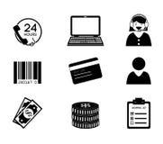 Ecommerce design Stock Photography