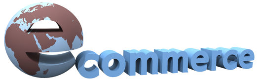 Ecommerce earth global internet world word Stock Photography