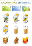 ECommerce Essentials Royalty Free Stock Photos