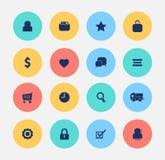 Ecommerce icon web shopping Royalty Free Stock Photography