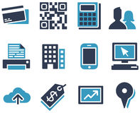 ECommerce Icons. Collection of eCommerce and web icons Royalty Free Stock Photography