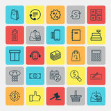 Ecommerce Icons Set. Collection Of Recommended, Recurring Payements, Gavel And Other Elements. Also Includes Symbols Royalty Free Stock Photos