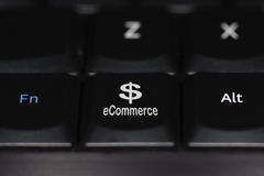 ECommerce Keyboard Button Stock Photo