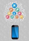 Ecommerce mobility Stock Image