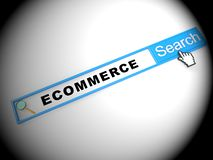 Ecommerce Platform Virtual Marketplace Portal 2d Illustration
