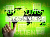 Ecommerce Platform Virtual Marketplace Portal 3d Illustration