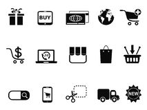 ECommerce & Shopping icons set Royalty Free Stock Image