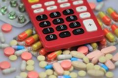 Económico en medicina imagen de archivo libre de regalías