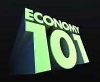 Economía 101 Fotografía de archivo