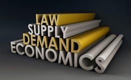 Economía stock de ilustración