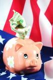 Economía americana Fotos de archivo libres de regalías