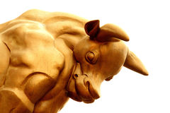 Economía de Bull Foto de archivo libre de regalías