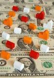 Economía de las propiedades inmobiliarias fotografía de archivo libre de regalías