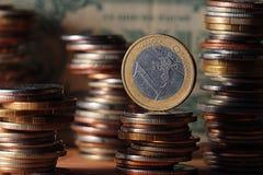 Economía del tipo de cambio  Fotos de archivo libres de regalías