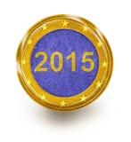 Economía europea 2015 Imágenes de archivo libres de regalías