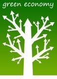 Economía verde Fotografía de archivo libre de regalías