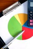 Economia/conceito da finança Imagens de Stock