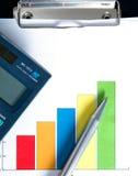 Economia/conceito da finança Fotos de Stock