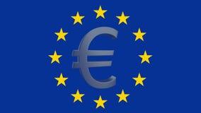 Economia da UE ilustração royalty free