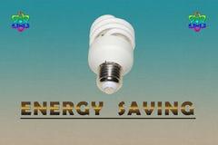 Economia de energia Fotos de Stock Royalty Free