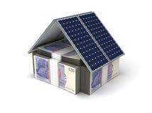 Economia de energia Foto de Stock